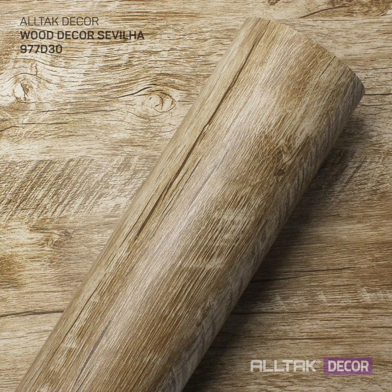 ALLTAK DECORATIVO WOOD SEVILHA 0,16X1,22