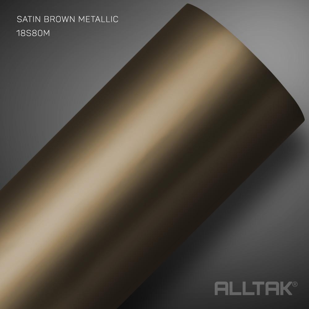 DECORATIVO SATIN BROWN MENTALLIC  0,11X1,22