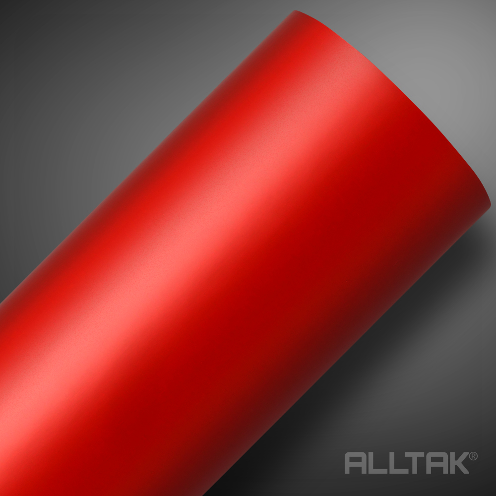 DECORATIVO SATIN RED  0,11X1,22