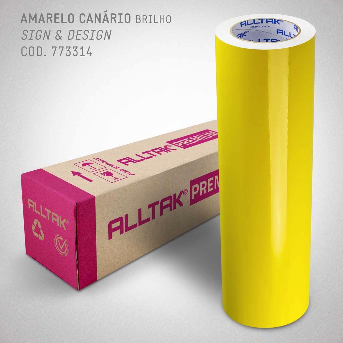 PREMIUM AMARELO CANÁRIO 0,08X1,22
