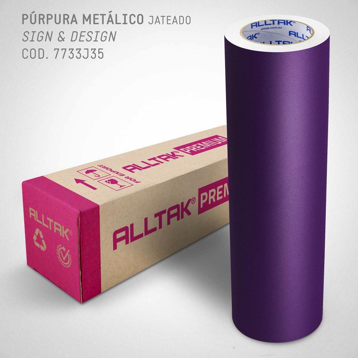 PREMIUM PURPURA METÁLICA 0,08X1,22
