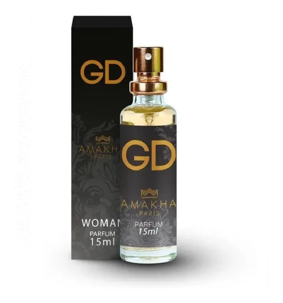 Perfume Amakha Paris 15ml - Promoção / Diversas Fragrâncias