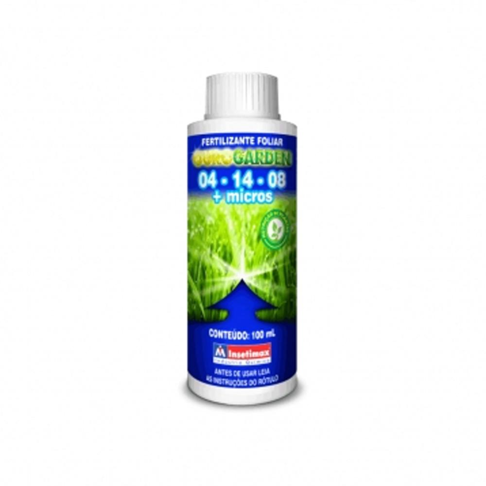 Fertilizante Foliar 04-14-08 + Micros 100ml