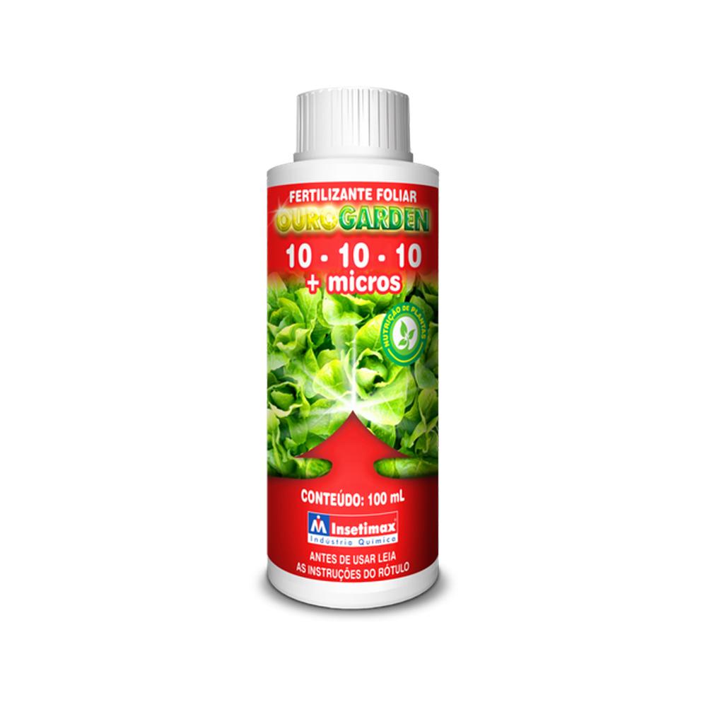 Fertilizante Foliar 10-10-10 + Micros 100ml