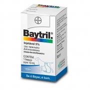 BAYTRIL INJETÁVEL 5% 10ML