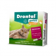 DRONTAL SPOT ON CATS 1,12 ML