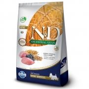 FARMINA ND ANCESTRAL GRAIN CANINE CORDEIRO ADULTO MINI 10,1KG
