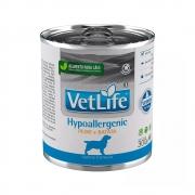 FARMINA VET LIFE CANINE WET HYPOALLERGENIC PEIXE E BATATA 300G