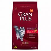 GRAN PLUS GATOS CASTRADO PACOTES INDIVIDUAIS CARNE 10,1KG