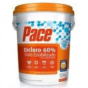 PACE DICLORO 60% CLORO ESTABILIZADO 10KG