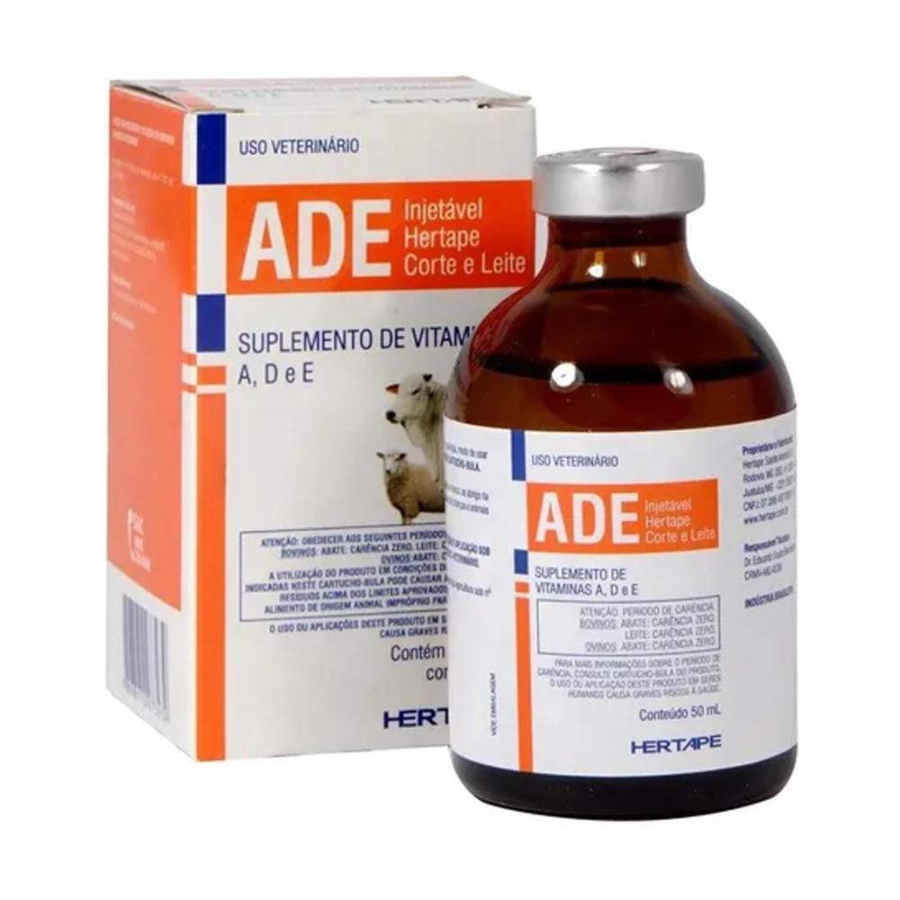 Suplemento ADE Injetável Hertape 50ml