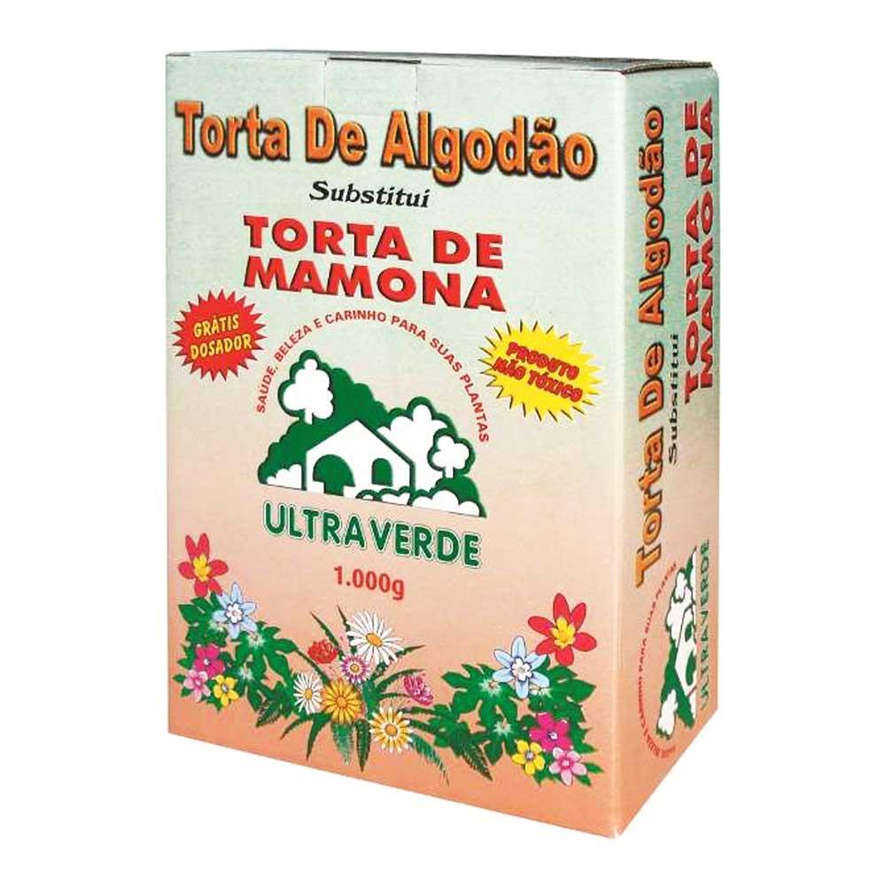 ADUBO TORTA DE MAMONA 1KG