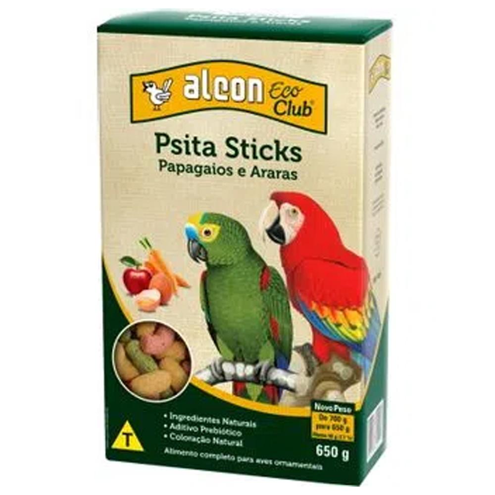 Ração Alcon Eco Club Psita Sticks para Papagaios e Araras 650g