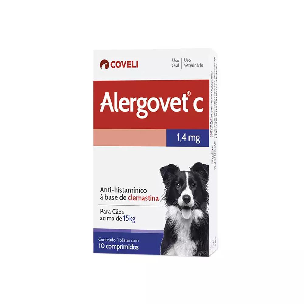 Alergovet C para Cães 1,4mg