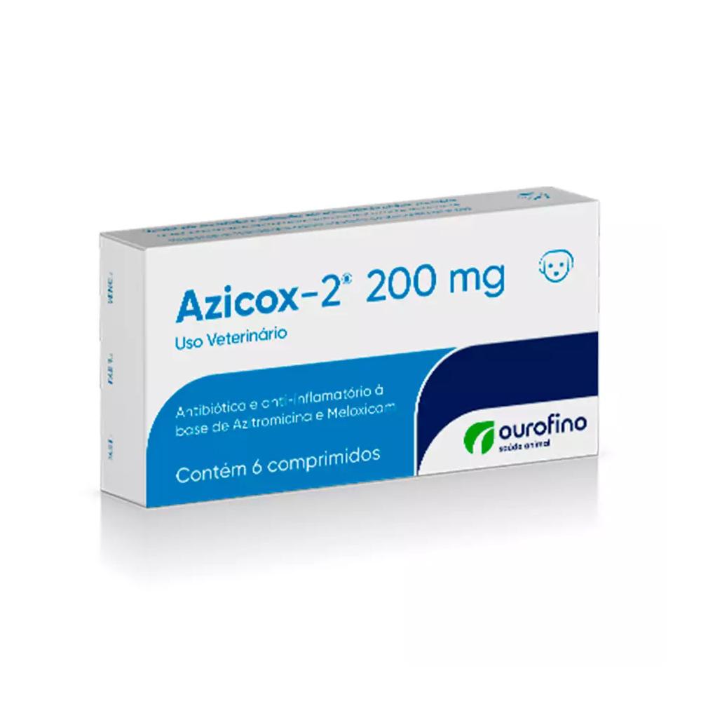 AZICOX-2 200MG - 6 COMPRIMIDOS