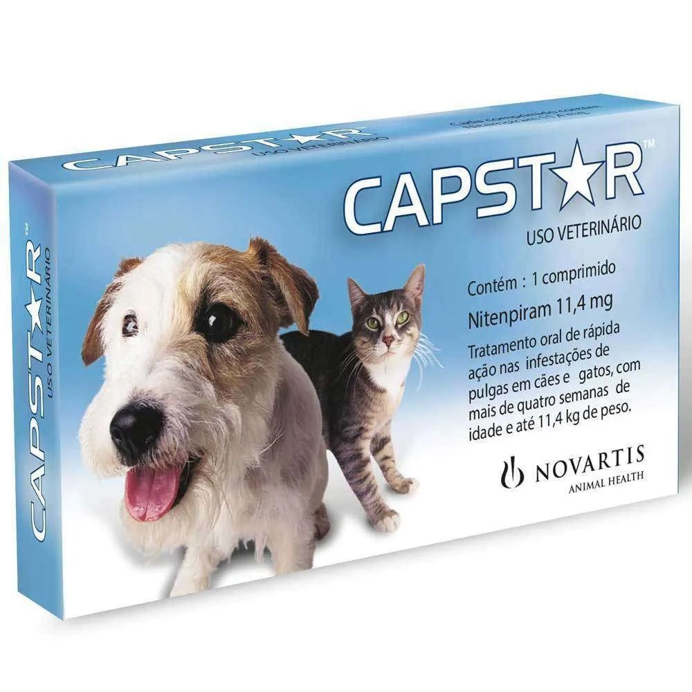CAPSTAR 11,4MG - 1 COMPRIMIDO
