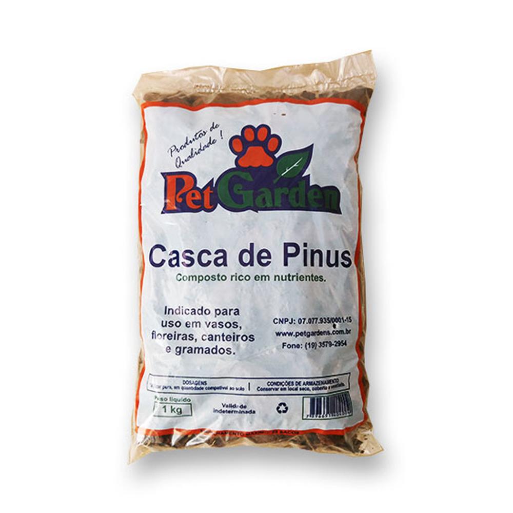 CASCA DE PINUS 1KG