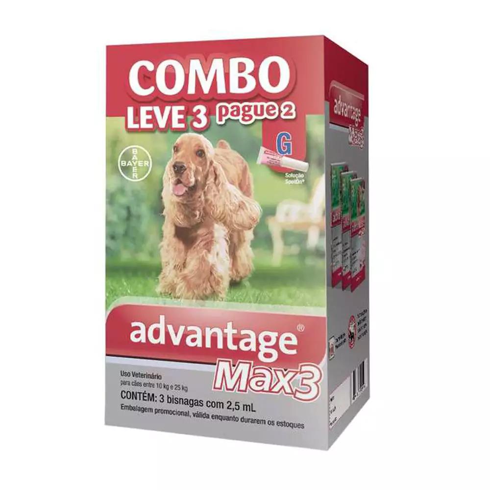 COMBO ADVANTAGE MAX 3 G 2,5ML