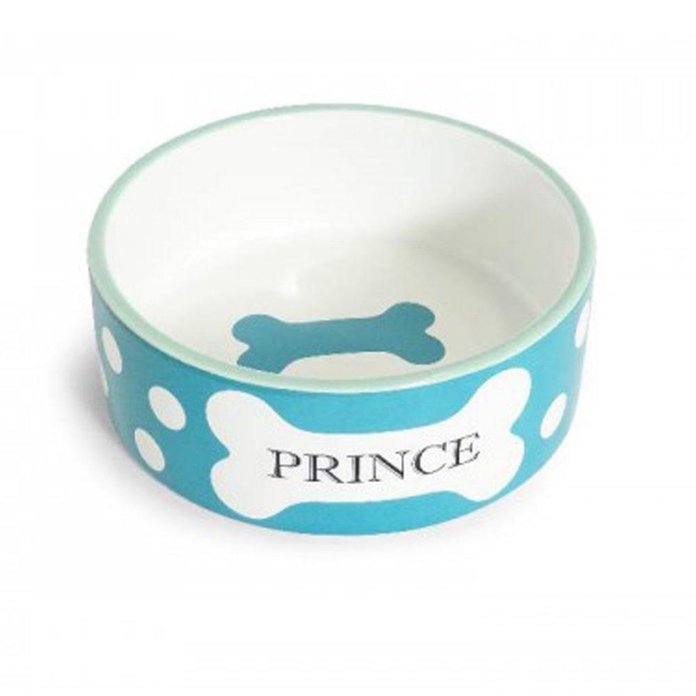 Comedouro Porcelana Príncipe Azul 750ml
