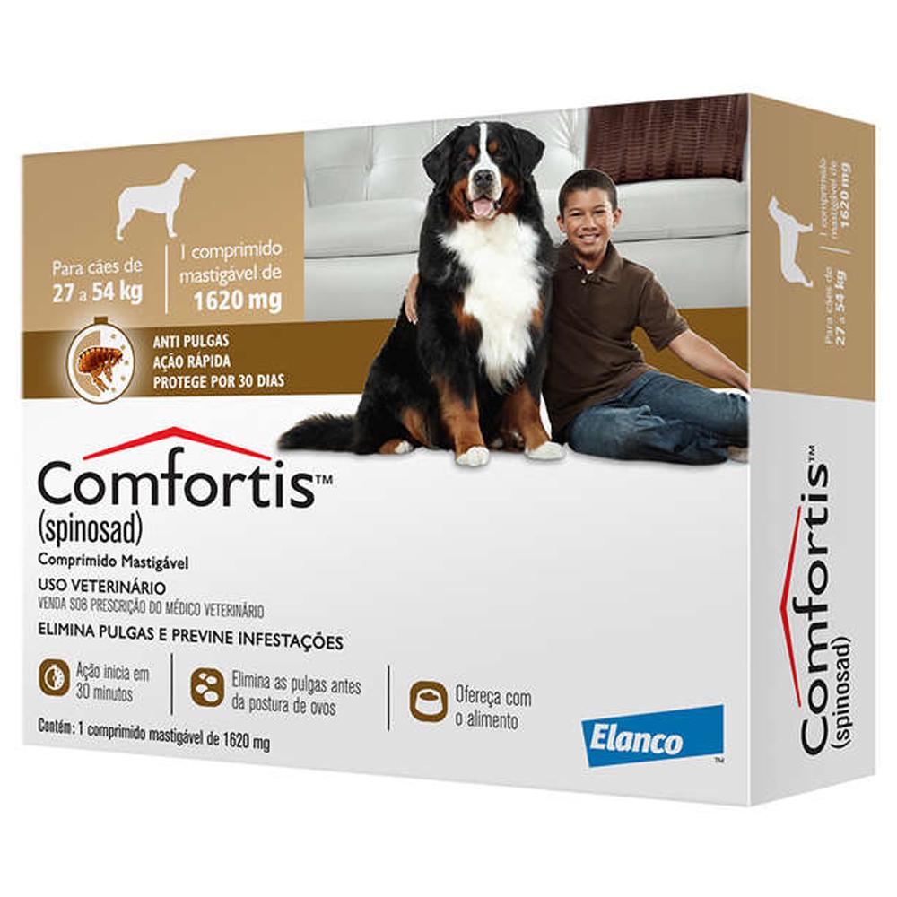 Comfortis 1620mg para Cães de 27kg a 54kg