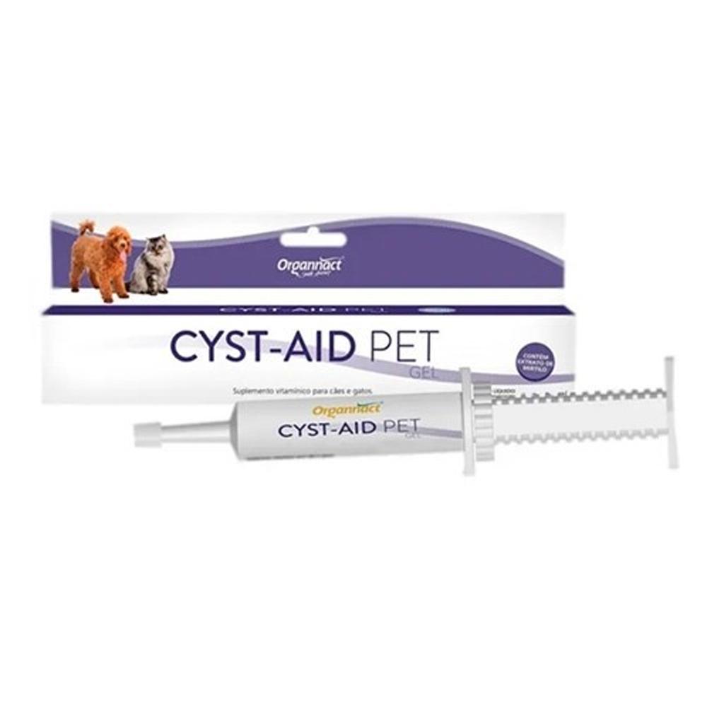 Suplemento Cyst Aid Pet Organnact para Cães e Gatos 35g