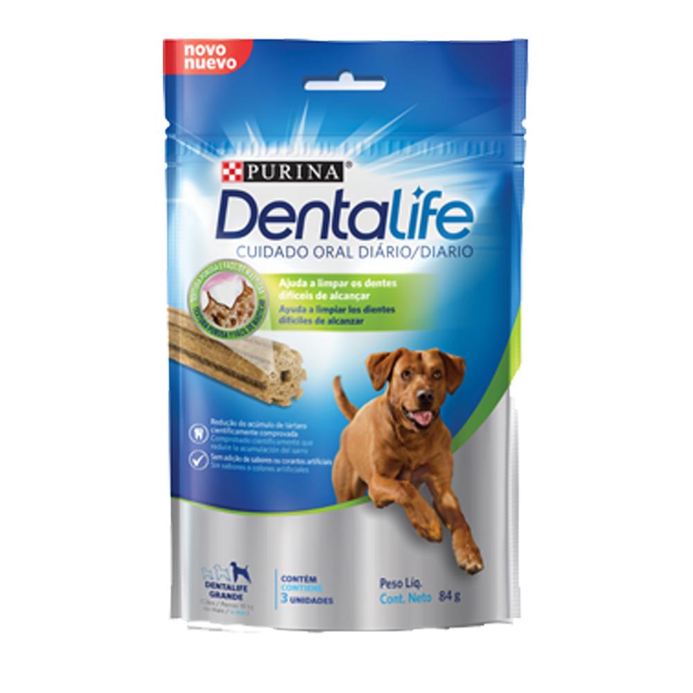 Petisco Dentalife para Cães Adultos de Raças Grandes 84g