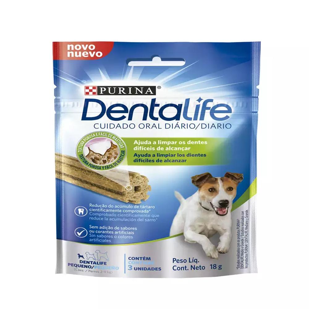 Petisco Dentalife para Cães Adultos de Raças Pequenas 18g