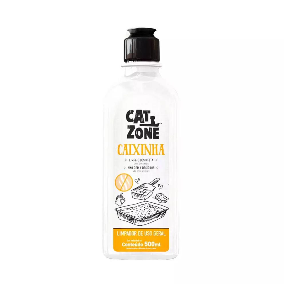 DETERGENTE LIMPEZA CAIXINHA CAT ZONE 500ML