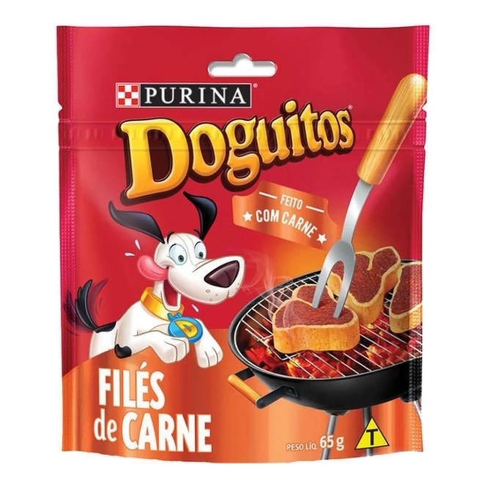 DOGUITOS FILÉS DE CARNE 65G