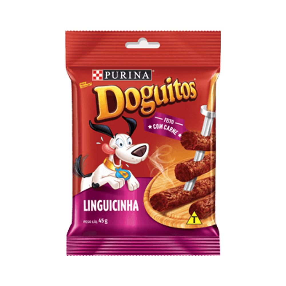 Petisco Doguitos Linguicinha 45g