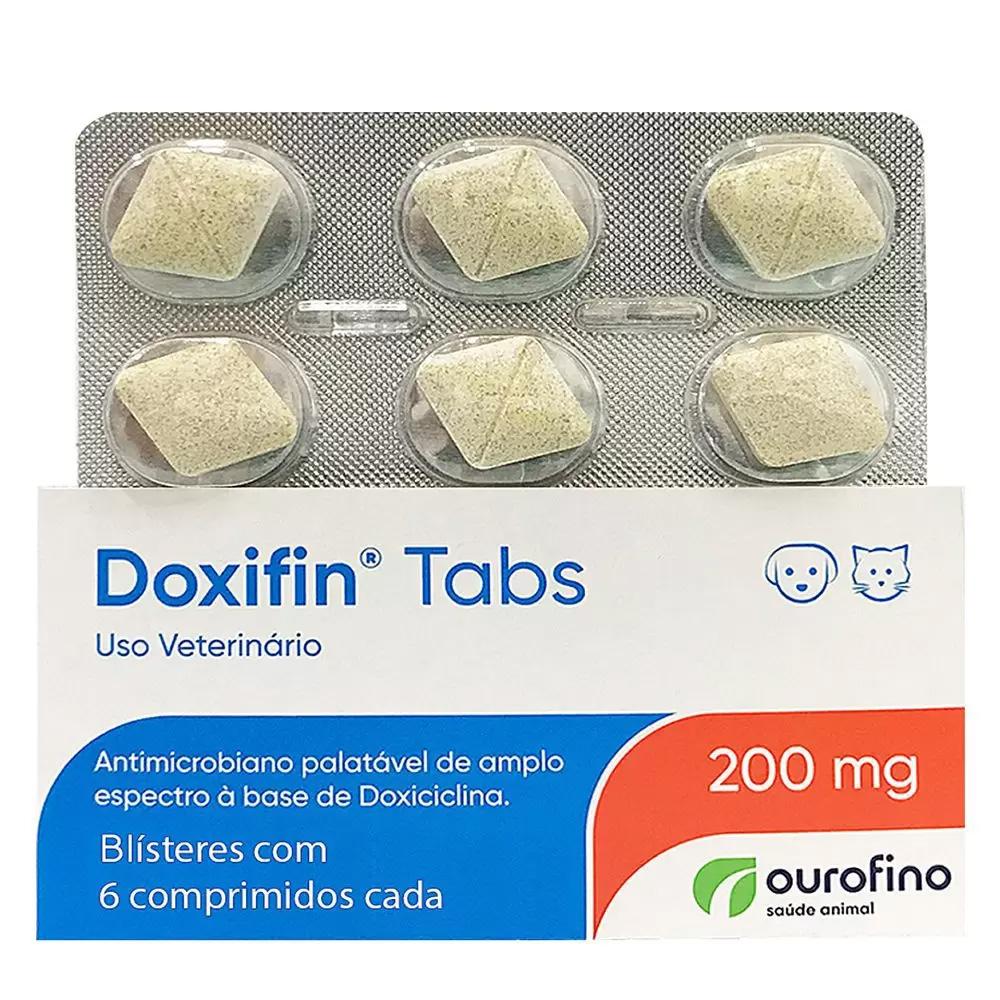 DOXIFIN TABS 200MG - 6 COMPRIMIDOS
