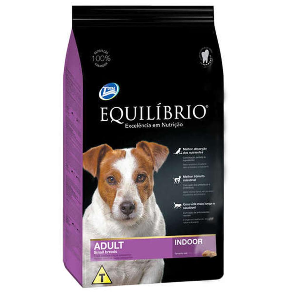 Ração Equilíbrio para Cães Adultos de Raças Pequenas 2kg