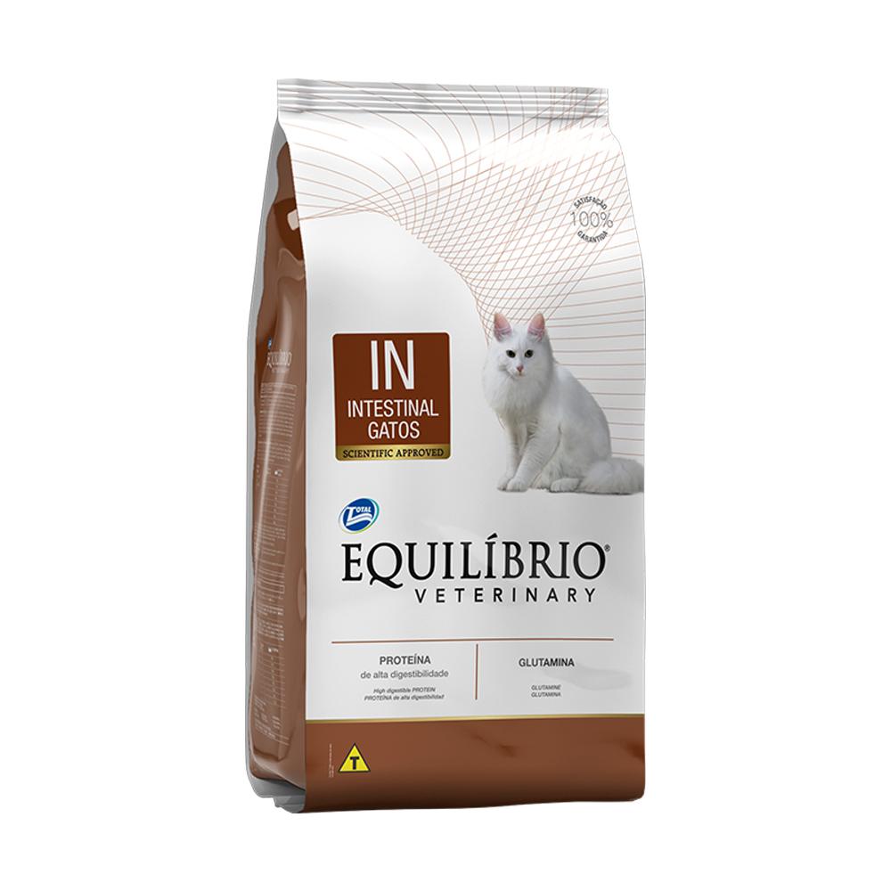 Ração Equilíbrio Veterinary Intestinal para Gatos Adultos 2kg