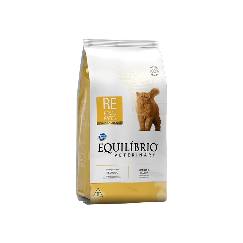 EQUILÍBRIO CAT VETERINARY RENAL 500G