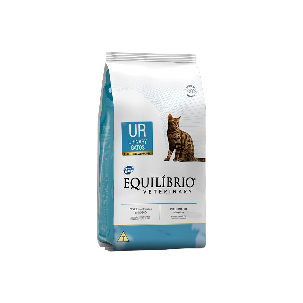 EQUILÍBRIO CAT VETERINARY URINARY 500G
