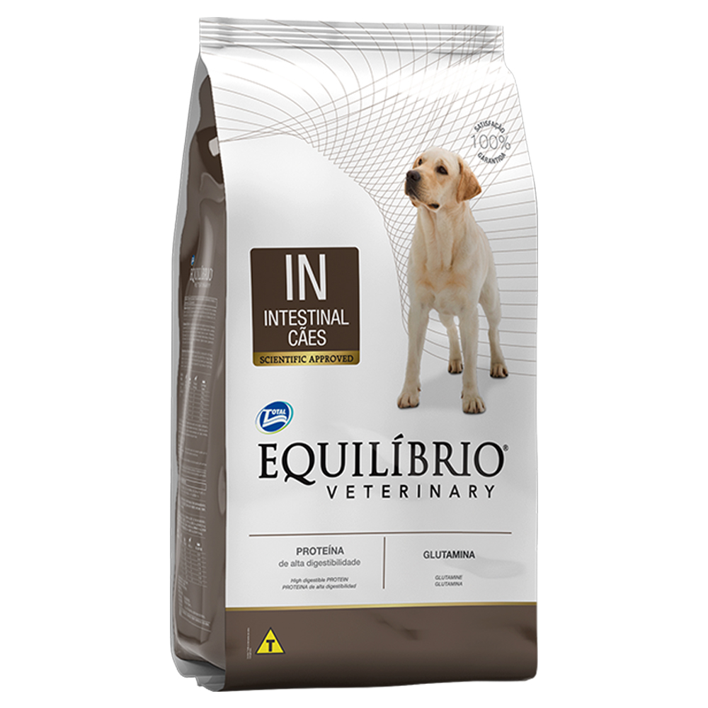 Ração Equilíbrio Veterinary Intestinal para Cães 7,5kg