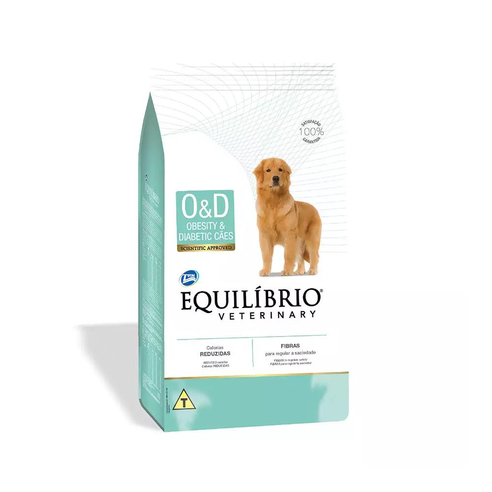 Ração Equilíbrio Veterinary Obesity e Diabetic para Cães Adultos 2kg
