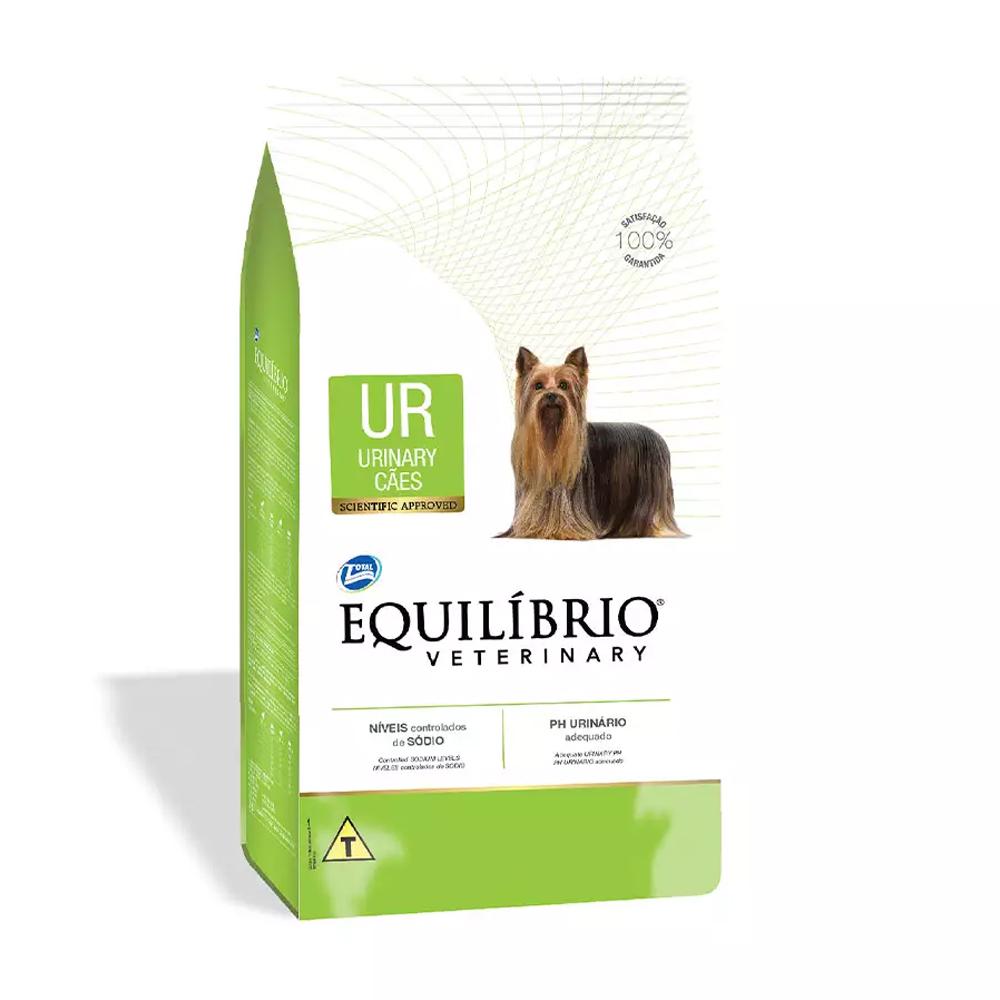 Ração Equilíbrio Veterinary Urinary para Cães Adultos 7,5kg