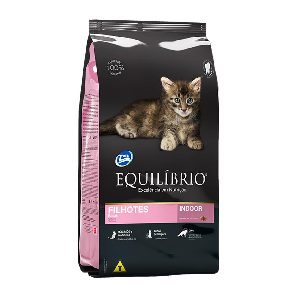 Ração Equilíbrio Indoor para Gatos Filhotes 1,5kg