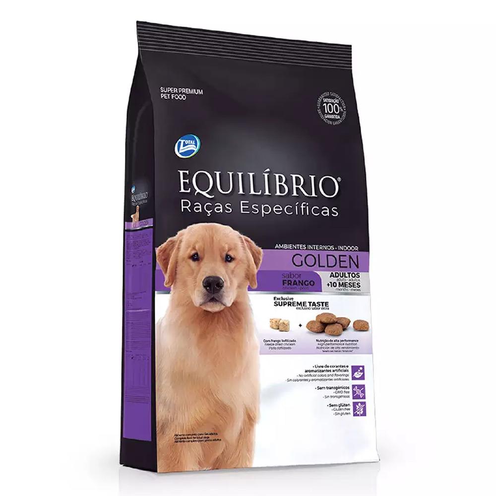 Ração Equilíbrio para Cães Golden Adultos sabor Frango 12kg
