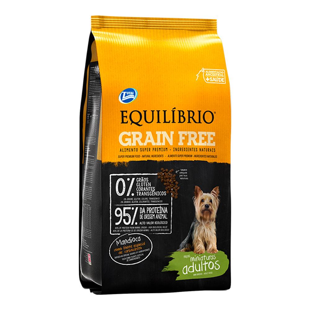 EQUILÍBRIO GRAIN FREE MINIATURA 7,5KG