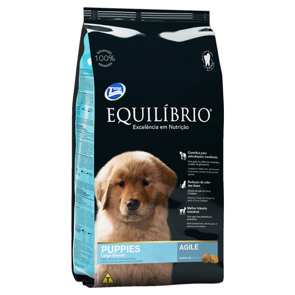 Ração Equilíbrio para Cães Filhotes de Raças Grandes 15kg