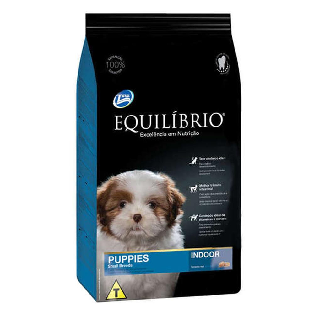 Ração Equilíbrio para Cães Filhotes de Raças Pequenas 7,5kg