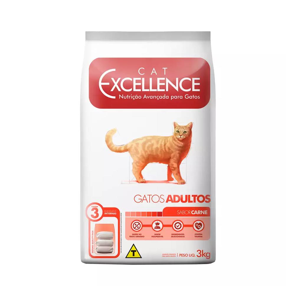 EXCELLENCE CAT ADULTO CARNE 3KG