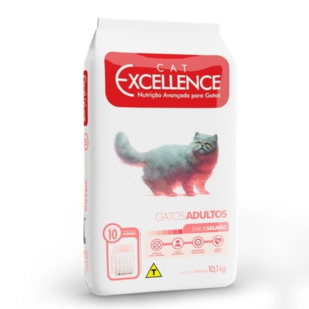 EXCELLENCE CAT ADULTO SALMÃO 10,1KG