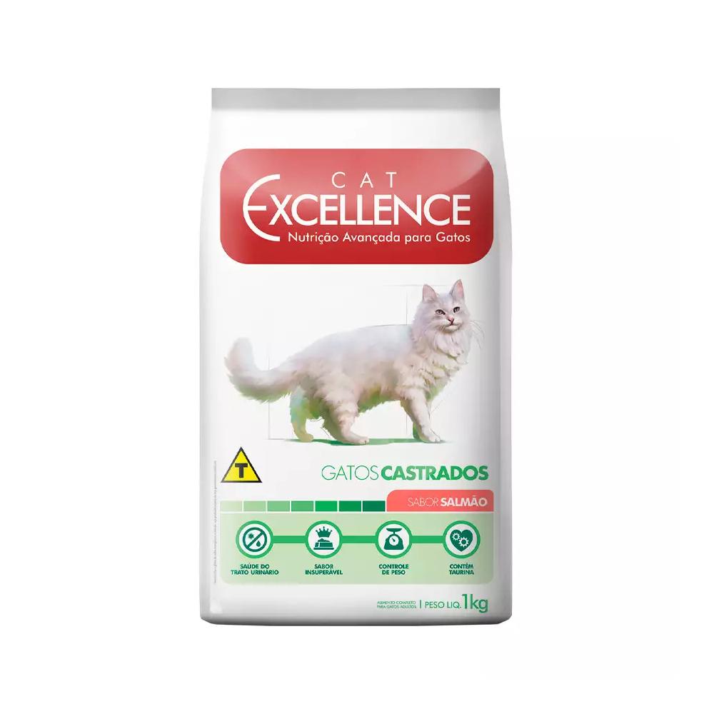 EXCELLENCE CAT CASTRADO SALMÃO 1KG