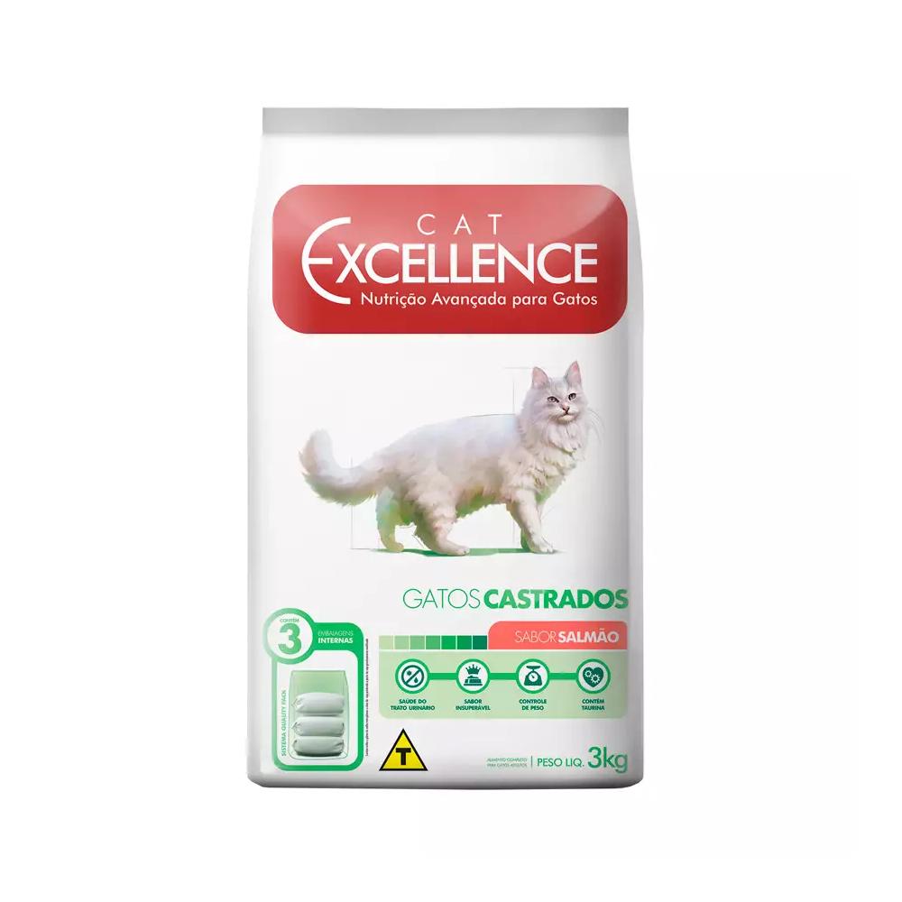 EXCELLENCE CAT CASTRADO SALMÃO 3KG