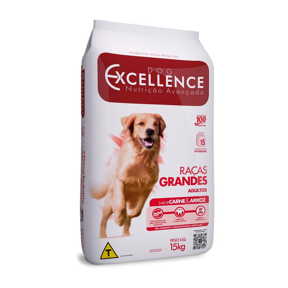 EXCELLENCE DOG RAÇAS GRANDES CARNE 15KG