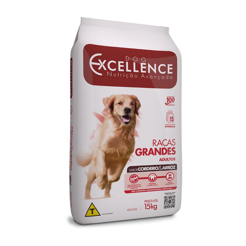 EXCELLENCE DOG RAÇAS GRANDES CORDEIRO 15KG