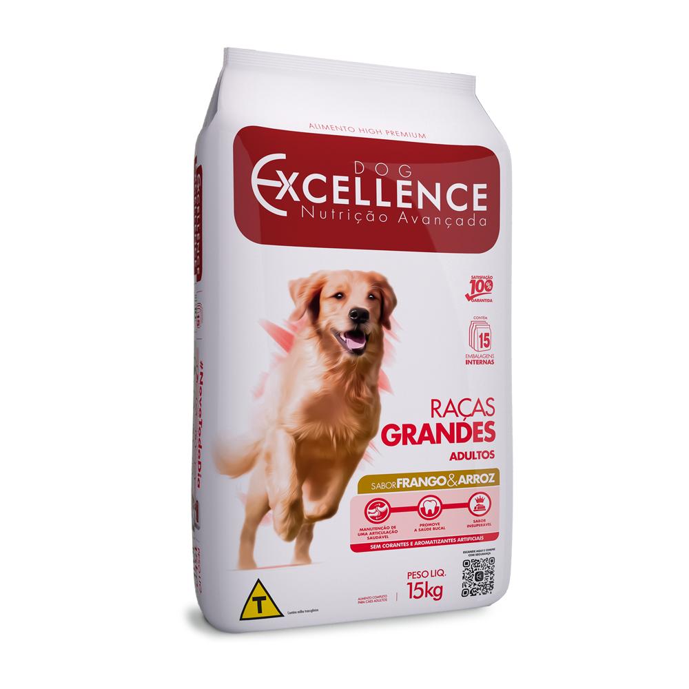 EXCELLENCE DOG RAÇAS GRANDES FRANGO 15KG